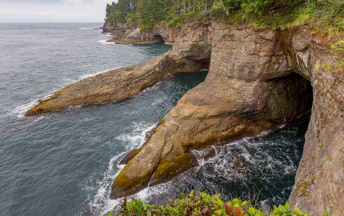Cape Flattery in Washington bij Olympic National Park